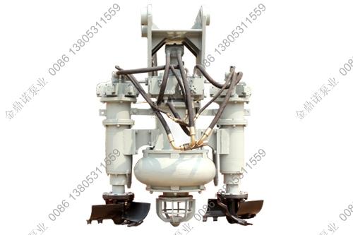 液压铰刀泥浆泵