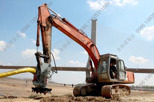 挖掘机液压抽沙泵