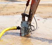 挖掘机液压吸沙泵